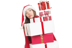 MasterCard says that almost a third of women buy gifts for 10 or more people. Photo / Getty Images
