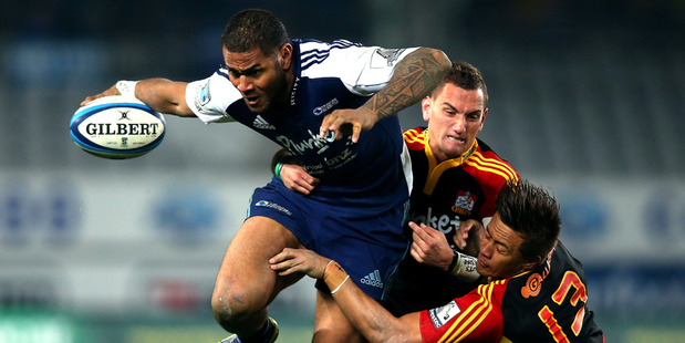 The Blues and Chiefs will clash in New Plymouth. Photo / Getty Images