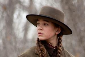 Hailee as Mattie Ross in True Grit.