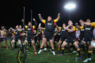 The Chiefs perform a haka after winning the Super Rugby final match against the Brumbies. Photo / Getty Images