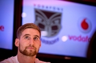Sam Tomkins says he was moved by the reception he received in downtown Auckland. Photo / Dean Purcell