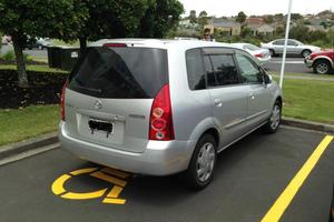 The car used in Massey cash transit armed robbery. Photo / NZ Police