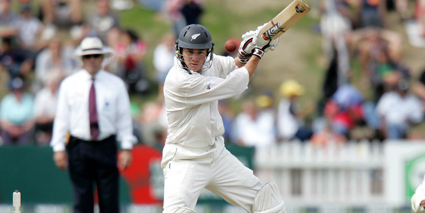 Peter Fulton scored 75 the last time New Zealand played the West Indies at the Basin Reserve, in 2006. Photo /Getty Images
