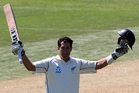 Black Caps captain Ross Taylor has earned a second consecutive test century.