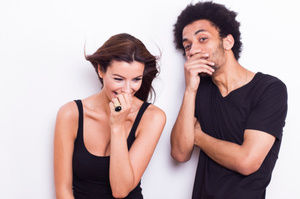 Findings challenge the view that laughter can only be beneficial. Photo / Thinkstock