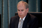 Auckland Mayor Len Brown after the vote by Auckland councilors to censure him. Photo / Sarah Ivey