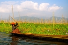 Inle Lake's shoreline is hard to define, meaning everything is built in relation to the water.