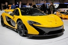 Three Kiwis are standing by to take delivery of their new McLaren P1s, which have a price tag of $1.5 million. Photo / AP