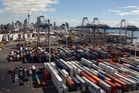 Exports of goods in the quarter rose $700m to $12b, while imports rose $1.1b to $12.6b. Photo / Brett Phibbs