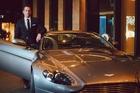 Michael Guerin takes an Aston Martin for a spin during a James Bond-themed weekend in Melbourne. Photo / Roberto Seba