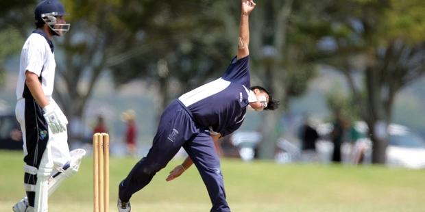 James Boyd spun his way to six wickets. Photo / File