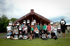 The 2014 Flaxmere community heroes. Photo/Glenn Taylor