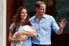 The Duke and Duchess of Cambridge will be bringing Prince George to New Zealand in April. Photo / AP