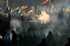 Pro-European Union activists gather during a rally in Independence Square in Kiev, Ukraine. Photo / AP