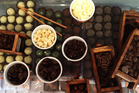 Chocolate tasting at Schoc in Greytown. Photo / Nicky Park