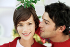 There are some Christmas traditions weirder than kissing under mistletoe. Photo / Thinkstock