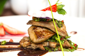 Foie gras, a traditional Christmas meal made from plumped-up duck liver. Photo / Thinkstock