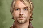 Kurt Cobain, who died in 1994 aged 27, as he'd look if he were alive today.