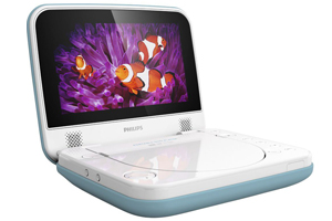 Philips portable DVD player.