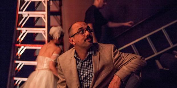Nightline reporter Ali Ikram says his television-watching days preceded adolescence. Photo / Bradley Ambrose