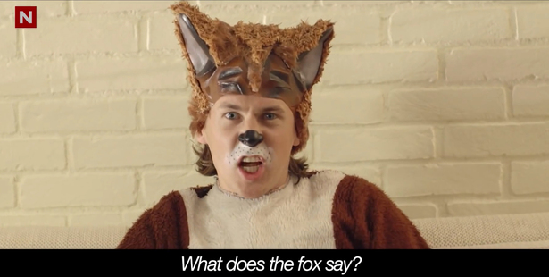 Number one youtube video is Ylvis - The Fox (What Does the Fox Say?) Official music video.