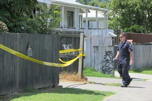 CRIME SCENE: A Whakatane man remains in a critical condition after he was stabbed on Tuesday night. Photo/ Katee Shanks