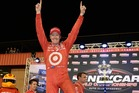 Scott Dixon is riding high after his third IndyCar series win. Picture / Getty Images