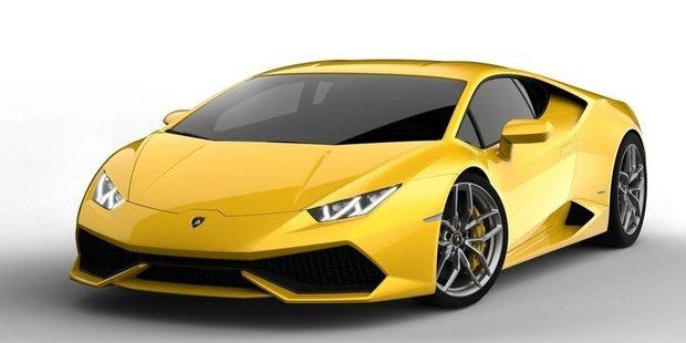 Leaked images of the upcoming Lamborghini Huracan