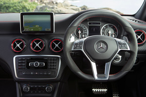 Satnav systems in cars like Mercedes-Benz resemble mobile devices.