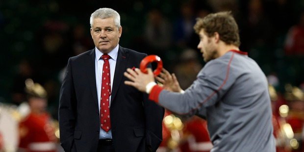 Wales won this year's Six Nations but the key to Gatland's popularity in Britain, of course, was his success as the coach of the Lions over Australia this year. Photo / AP