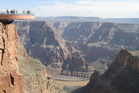 The Skywalk over the Grand Canyon. Photo / Supplied