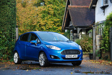 The Ford Fiesta with the 1-ltire ecoboost engine.