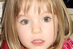 Missing British toddler Madeleine McCann.