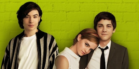 Ezra Miller, Emma Watson and Logan Lerman in 'The Perks Of Being A Wallflower'.