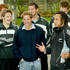 Prince William shares a laugh with All Black captain Tana Umaga (right) and Richie McCaw, 2005. Photo / NZH