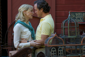 Cate Blanchett and Peter Sarsgaard in a scene from Blue Jasmine.