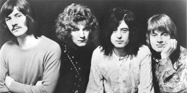 Rock legends, Led Zeppelin.