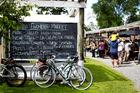 Saturday morning Oratia markets. Photo / Babiche Martens.