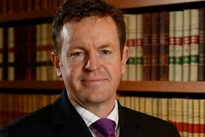 Law Society president Chris Moore.