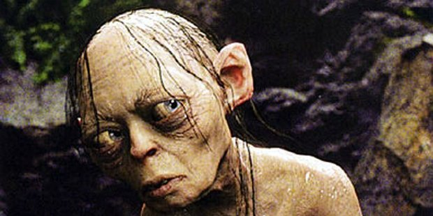 Gollum's diet and lifestyle lacks sufficient vitamin D - a quirky study suggests. Photo / File
