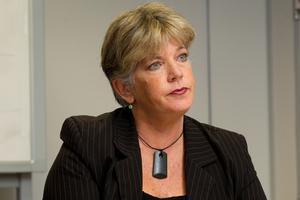 Ms Hulse would not say if she backed Mr Brown to stay on as mayor, only that councillors were focused on doing what was best for Auckland. Photo / NZ Herald