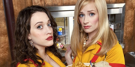 '2 Broke Girls'.