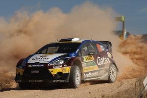 Hayden Paddon and John Kennard's WRC Ford Fiesta Picture / M-Sport