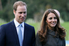 Prince William and his wife Kate, the Duchess of Cambridge. Photo / AP