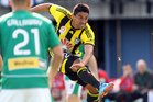 Wellington Phoenix player Carlos Hernandez. Photo / Paul Taylor