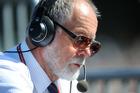 Broadcaster Geoff Robinson. Photo / NZPA