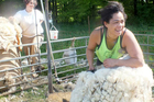 Carey Potae shearing outdoors in Austria about 4months ago.