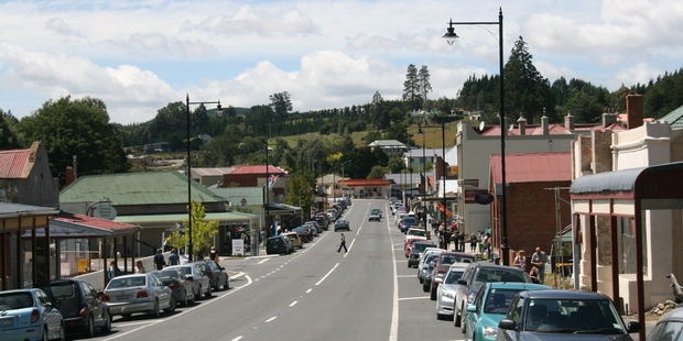 Lawrence was at the centre of Otago's 1860s gold rush.