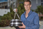 Andy Murray was named as the BBC Sports Personality of the Year 2013. Photo / AP