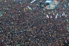Ukraine's decision to walk away from an EU deal sparked huge protests in Kiev. Photo / AP